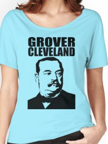GROVER CLEVELAND-3 Women's Relaxed Fit T-Shirt