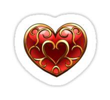 Skyward Sword Heart Container(small print) Sticker