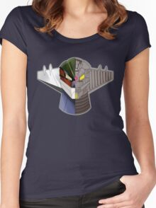InsideOut Jeeg Anime Women's Fitted Scoop T-Shirt