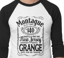 Montague Grange #140 Men's Baseball ¾ T-Shirt