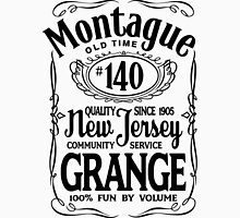 Montague Grange #140 Men's Baseball ¾ T-Shirt