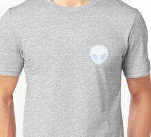 Pastel Blue Alien Unisex T-Shirt