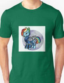 My little pony- rainbow dash (cutie re-mark) Unisex T-Shirt