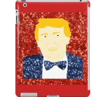 sequin donald trump iPad Case/Skin