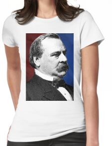 GROVER CLEVELAND Womens Fitted T-Shirt