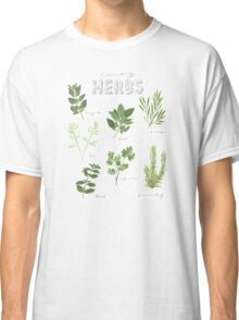 Culinary Herbs Classic T-Shirt