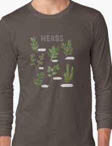 Culinary Herbs Long Sleeve T-Shirt