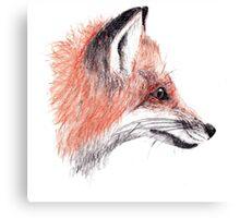 Foxy Fella Canvas Print