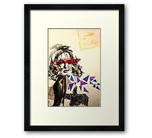 Blind Framed Print