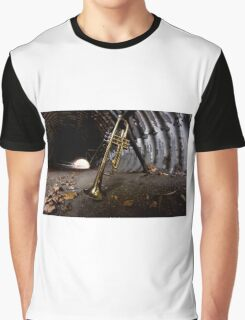 Trumpet Tunnel City Graphic T-Shirt