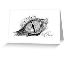 The Eye of Smaug Greeting Card
