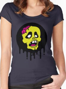 (zombie) brainz Women's Fitted Scoop T-Shirt