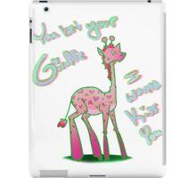 You Bet Your Giraffe - Valentine iPad Case/Skin