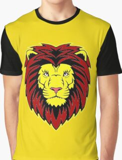 Lion Head Graphic T-Shirt