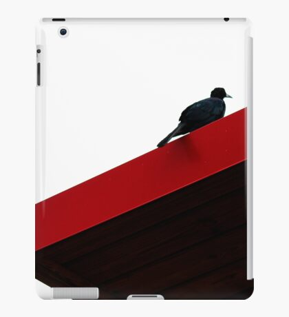 I see a black bird and i want to paint it red iPad Case/Skin