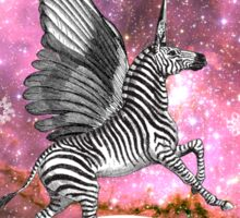 UNICORN (Zebra Pegacorn)  Sticker