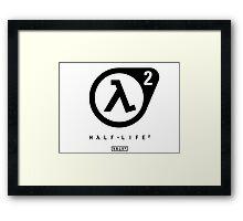 Half Life 2 Logo Framed Print