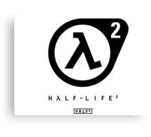 Half Life 2 Logo Canvas Print