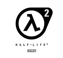 Half Life 2 Logo Photographic Print