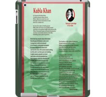 Kubla Khan iPad Case/Skin