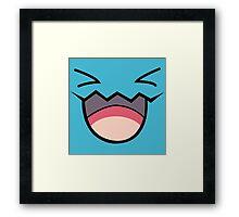 Wobbuffet Framed Print