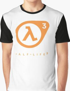 Half Life 3 Logo Graphic T-Shirt