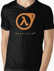 Half Life 3 Logo Mens V-Neck T-Shirt