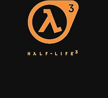 Half Life 3 Logo Unisex T-Shirt
