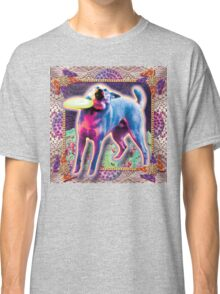 meme doggo with frisbee Classic T-Shirt