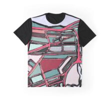 Abstract Map of Fenway Park Graphic T-Shirt
