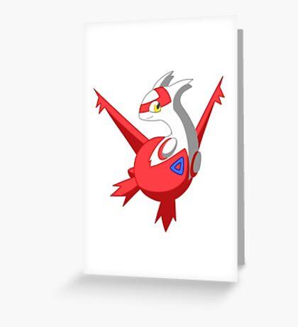 Pokemon - Latias Greeting Card