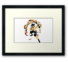 Ace One Piece Framed Print
