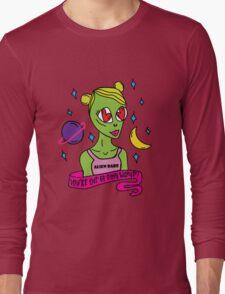 Alien Babe Long Sleeve T-Shirt