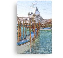 St Mark's Basilica Venice Canvas Print