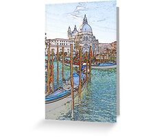 St Mark's Basilica Venice Greeting Card