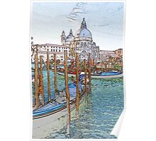 St Mark's Basilica Venice Poster