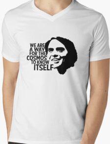 Carl Sagan - Cosmos Mens V-Neck T-Shirt