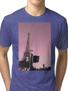 pink paris traffic Tri-blend T-Shirt