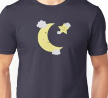 Moon and Star Unisex T-Shirt