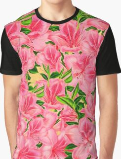 Beautiful Pink Vintage Flowers  Graphic T-Shirt
