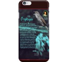 O Nightingale iPhone Case/Skin