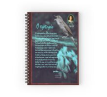 O Nightingale Spiral Notebook