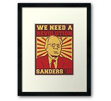 Bernie Sanders - We Need a Revolution Framed Print