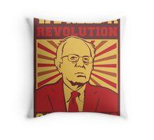Bernie Sanders - We Need a Revolution Throw Pillow