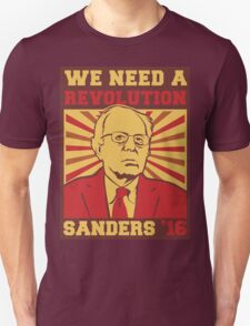 Bernie Sanders - We Need a Revolution Unisex T-Shirt