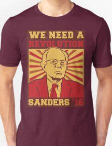 Bernie Sanders - We Need a Revolution T-Shirt
