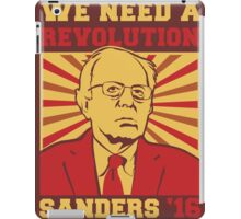 Bernie Sanders - We Need a Revolution iPad Case/Skin