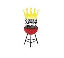 Queen of the grill by ilovecotton