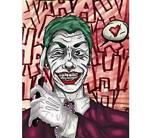 Joker Photographic Print