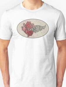 As the heart flies Unisex T-Shirt